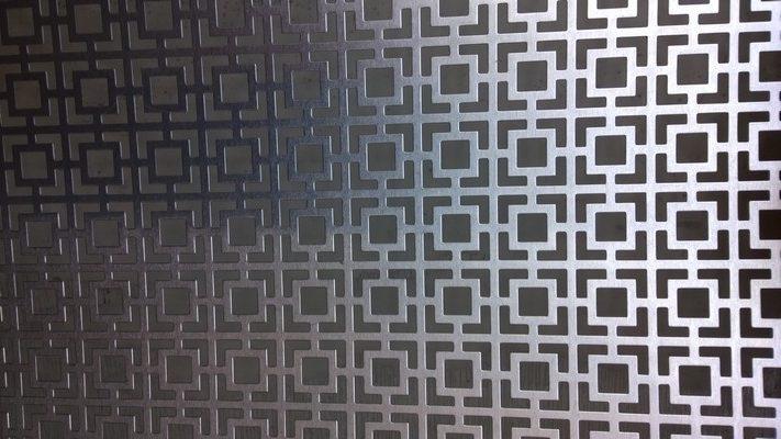Copritermo alluminio naturale quadri